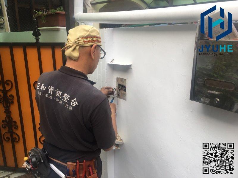 台中西區-洪先生住家(門禁管制、對講機系統、監視器設備)