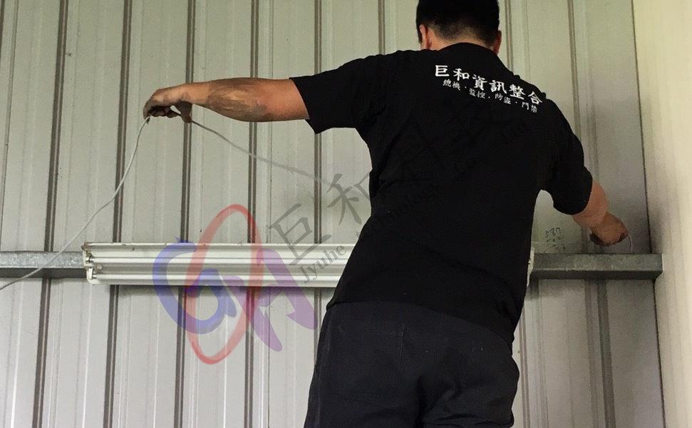 大雅區-檸檬快遞包裝工廠(監視器安裝、規劃、建置、新增)