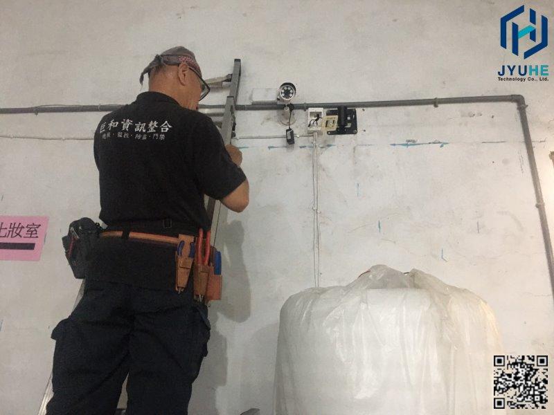 台中梧棲區-活動中心(監視器安裝、規劃、新增、建置)