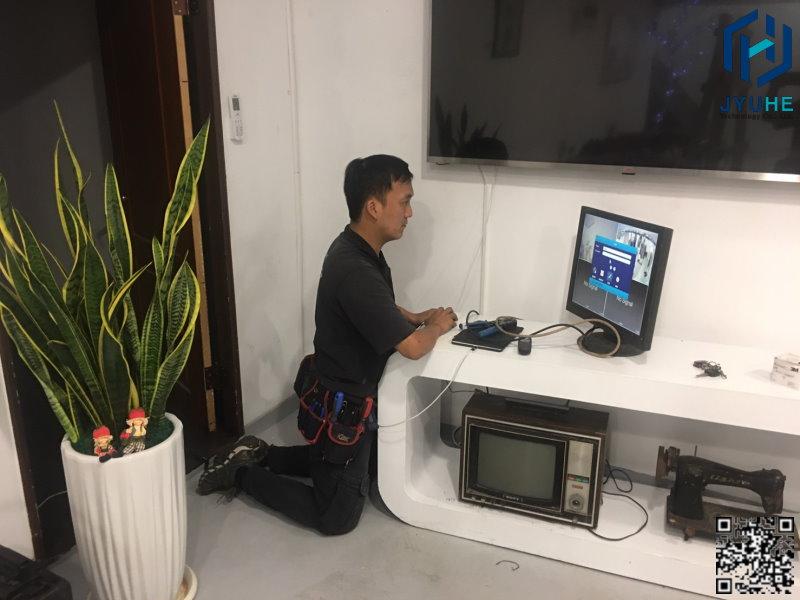 西屯區逢甲夜市商圈-7even shadow服飾(商場店面監視器、安裝、規劃、建置)