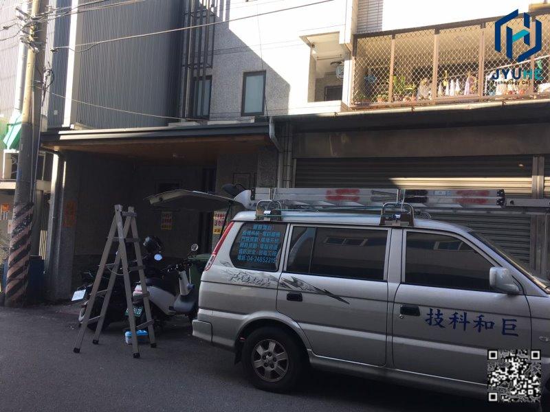 台中大里區-學生宿舍套房(監視器、門禁、網路、規劃、安裝、維修、建置)