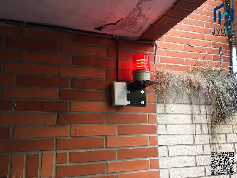 大雅區大地回村社區-車道警示燈-05