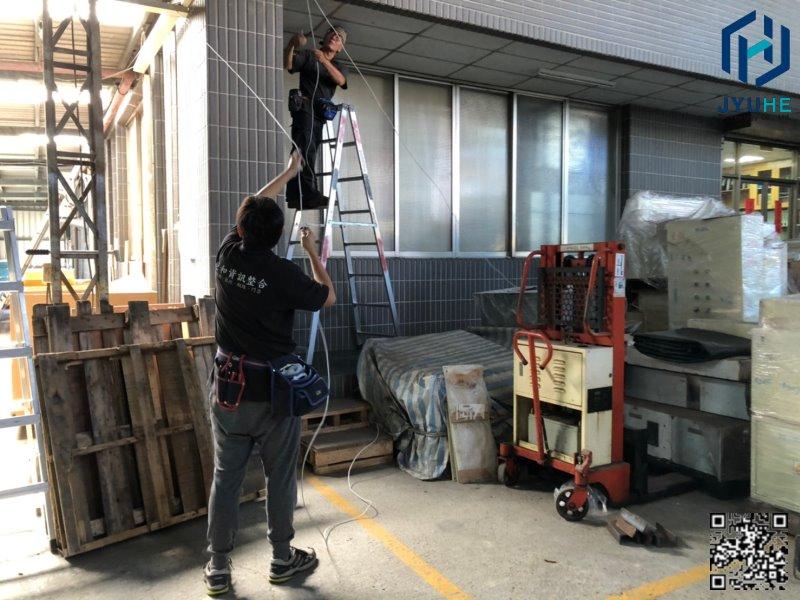 西屯台中工業區建華機電-探照燈+監視器鏡頭新增工程-02