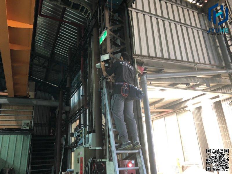 台中西屯工業區建華機電-工廠廠房監視器、探照燈(安裝、規劃、建置)