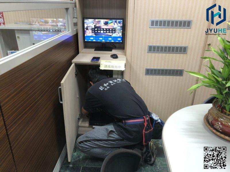 西屯台中工業區建華機電-探照燈+監視器鏡頭新增工程-04